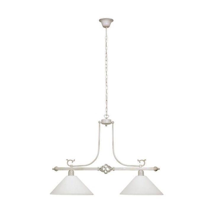 Lampa wisząca CORA II 2xE27 białyzłoty